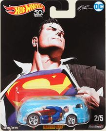 Haulin' Gas | Model Trucks | Hot Wheels Pop Culture Alex Ross DC Heroes lt blue