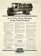 A 1½ Ton Truck Worthy Of The Name It Bears | Print Ads