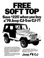 Free Soft Top   Print Ads