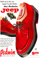 Stride Out In This New Rugged 3-Eyelet Blucher The Pedwin Jeep   Print Ads