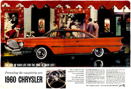 1960 Chrysler The Car Of Your Life For The Time Of Your Life! | Print Ads