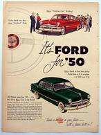 It's Ford For '50 | Print Ads