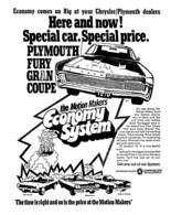 Economy Comes On BigAt Your Chrysler/Plymouth Dealers | Print Ads