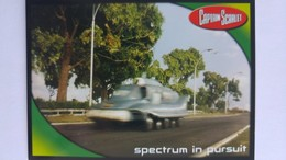 Captain Scarlet #8 - Spectrum In Pursuit | Trading Cards (Individual)