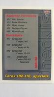 1994 Australian Grand Prix #110 - Checklist Cards 102-110, Specials   Sports Cards (Individual)