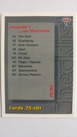 1994 Australian Grand Prix #109 - Checklist Cards 75-101   Sports Cards (Individual)