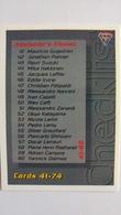 1994 Australian Grand Prix #108 - Checklist Cards 41-74   Sports Cards (Individual)