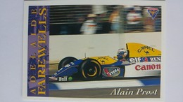 1994 Australian Grand Prix #106 - Alain Prost   Sports Cards (Individual)