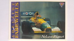 1994 Australian Grand Prix #105 - Nelson Piquet   Sports Cards (Individual)