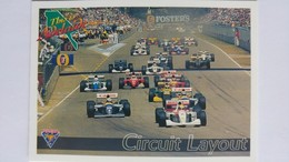 1994 Australian Grand Prix #85 - Circuit Layout | Sports Cards (Individual)