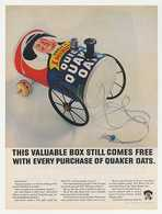This Valuable Box Still Comes Free With Every Purchase Of Quaker Oats. | Print Ads