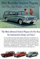 1963 Rambler Station Wagons | Print Ads