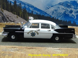 Plymouth Savoy Police | Model Cars