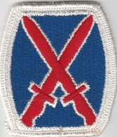U.S. Army Patch - 10th Infantry Division Patch   Uniform Patches   U.S. Army Patch - 10th Infantry Division Patch