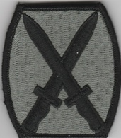 U.S. Army Patch - 10th Infantry Division Patch   Uniform Patches   10th Infantry Division O.D.