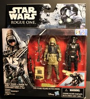 Rebel Commando Pao vs Imperial Death Trooper ( Star Wars Rogue One ) | Action Figure Sets