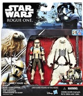 Moroff vs Scarif Stormtrooper Squad Leader ( Star Wars Rogue One ) | Action Figure Sets | Star Wars RogueOne - Moroff vs Scarif Stormtrooper Squad Leader.  (Accessories included)
