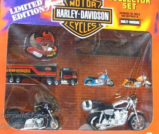 Matchbox Harley-Davidson Collector Set | Model Motorcycles
