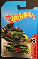 Fly-By ( HW Daredevils) 2018 International Card | Model Motorcycles | 2018 Hot Wheels Fly-By (HW Daredevils) International Card