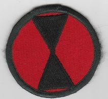 U.S. Army Patch - US 7th Infantry Division  | Uniform Patches | US 7th Infantry Division Color