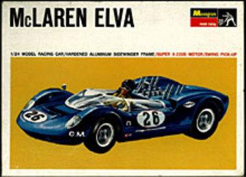 McLaren Elva Mk. 1 | Model Racing Car Kits