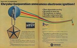 Chrysler corporation announces electronic ignition%2521 print ads cd54163c 6cd2 413b 898f 475de5b67940 medium