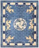 Antique Dragon Design Chinese Rug   Carpets & Rugs