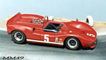 1966 McLaren M1B   Model Racing Cars