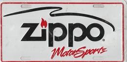 Zippo MotorSports Novelty Plate | License Plates | Zippo MotorSports Novelty Plate