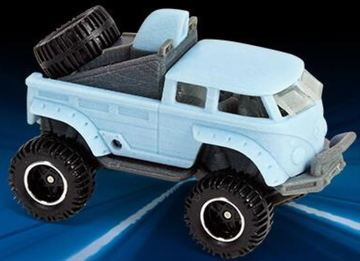 Volkswagen T1 Rockster | Model Trucks | Hot Wheels Design Team T1 Rockster Prototype