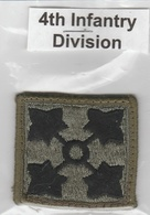 U.S. Army Patch - US 4th Infantry Division  | Uniform Patches | 4th Infantry Division