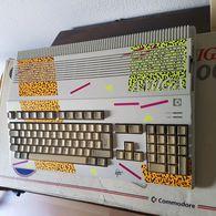 "Amiga 500 ""New Art"" Stefanie Tücking ""Leopard-Design"" | Video Game Consoles"