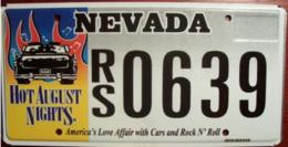 Nevada Passenger License Plate | License Plates | Nevada Passenger License Plate - Hot August Nights.