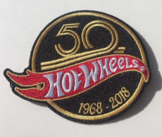50th Anniversary Hot Wheels 1968-2018 Patch | Pins & Badges