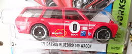 '71 Datsun Bluebird 510 Wagon | Model Cars | Extra silver paint on the side.