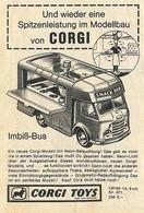 Und wieder eine Spitzenleistung im Modellbau von CORGI   Print Ads