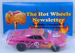 '70 Dodge Charger R/T | Model Cars | HW 2018 - 18th Annual Collectors Nationals - Newsletter Car - '70 Dodge Charger R/T - Pink