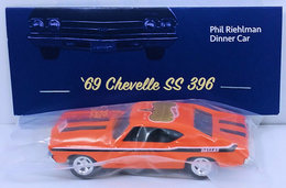 '69 Chevelle SS 396 | Model Cars | HW 2018 - 18th Annual Collectors Nationals - Dinner Bonus Car - '69 Chevelle SS 396 - Orange