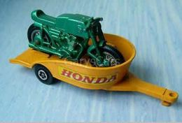 Honda Motorcycle and Trailer | Model Vehicle Sets