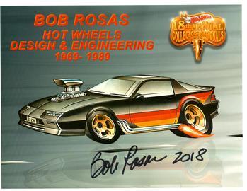 2018 - 18th Annual Collectors Nationals Autograph Sheets | Posters & Prints | 2018 Nationals - Camaro Z-28 - Bob Rosas