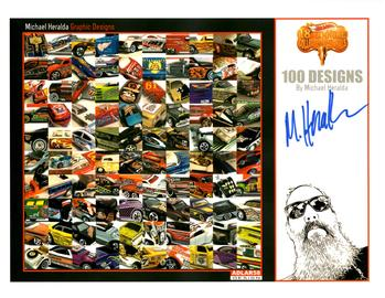 2018 - 18th Annual Collectors Nationals Autograph Sheets | Posters & Prints | 2018 Nationals - Multiple Castings - Michael Heralda