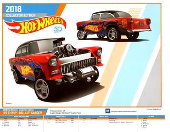 Hot Wheels Collectors Edition E-Sheet | Posters & Prints | Hot Wheels Collector Edition E-Sheet - 55 Chevy Gasser
