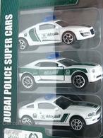 Dubai Police Super Car set  | Model Vehicle Sets