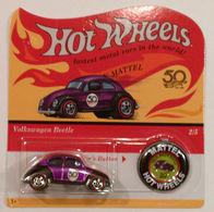 Volkswagen Beetle | Model Cars | Hot Wheels 50th Anniversary Redline Replica