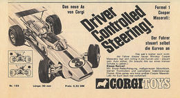 Driver Controlled Steering!   Print Ads