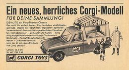 Ein Neues, Herrliches Corgi-Modell   Print Ads