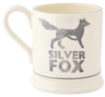 Silver Fox 1/2 Pint Mug - Emma Bridgewater | Ceramics | Silver Fox 1/2 Pint Mug