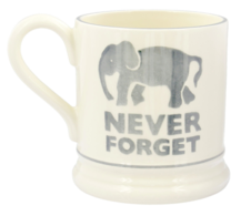 Never Forget 1/2 Pint Mug - Emma Bridgewater | Ceramics | Never Forget 1/2 Pint Mug