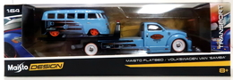 Maisto flatbed and volkswagen van %2522samba%2522 model vehicle sets 8967e507 fa86 40e7 b806 6129c4e3649f medium