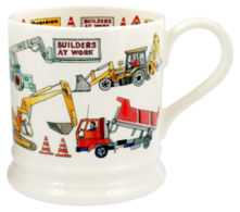 Builders At Work 1 Pint Mug - Emma Bridgewater | Ceramics | Builders at Work 1 Pint Mug
